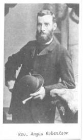 Rev Angus Robertson 1880s