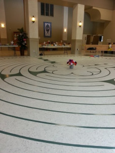 New Painted Labyrinth July 2015