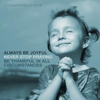 Joyful Prayer